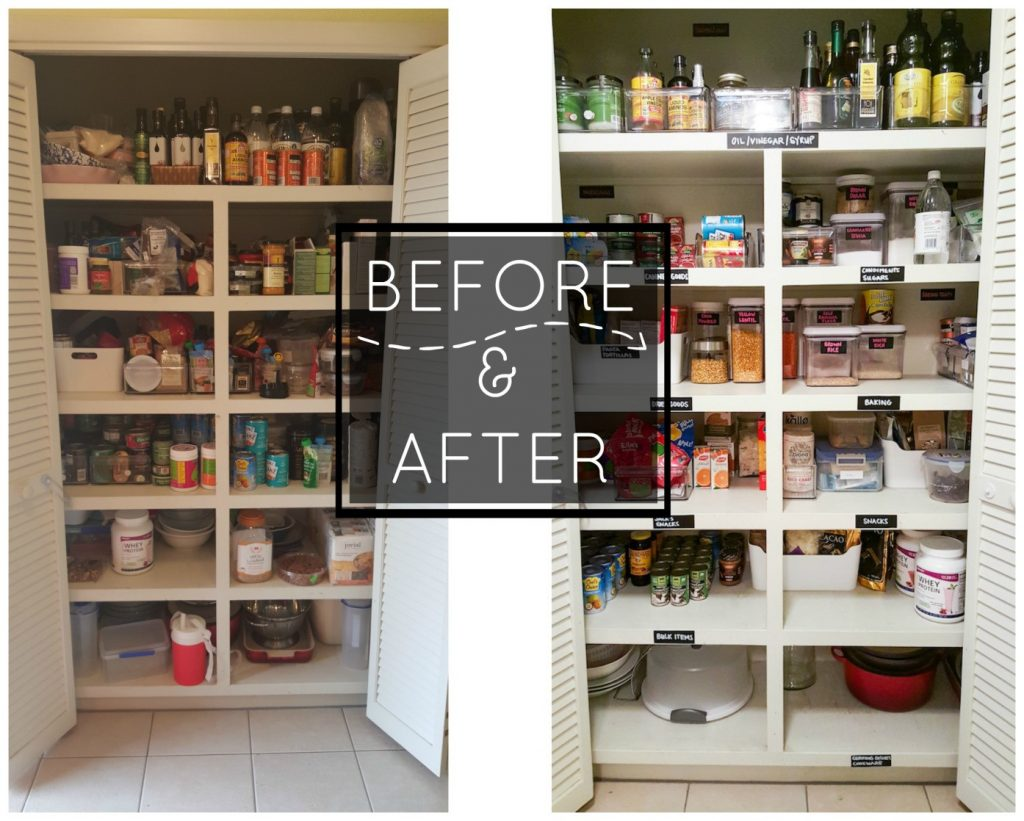 Declutter your home like a pro boxfactory - Declutter before and after ...